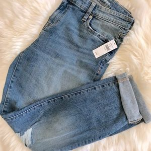 Gap jeans real straight fit, size 10/30.